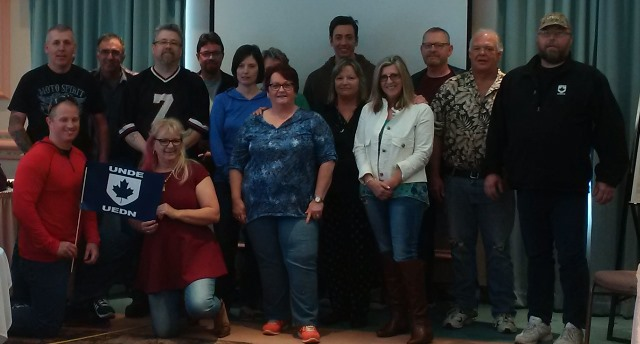 Module 8 training in Fredericton (June 2016). Facilitated by Brendalee Blaney, Labour Relations Officer.