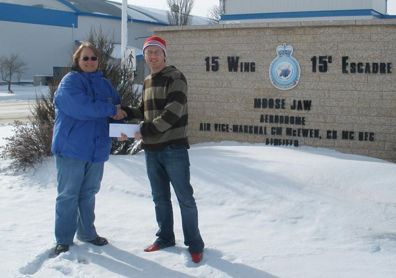 Charles James MacDonald, Local 40802, Moose Jaw, SK, awarded the Ken Green Scholarship