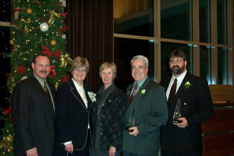Brian Molsberry - Public Service Award (Dec 02)